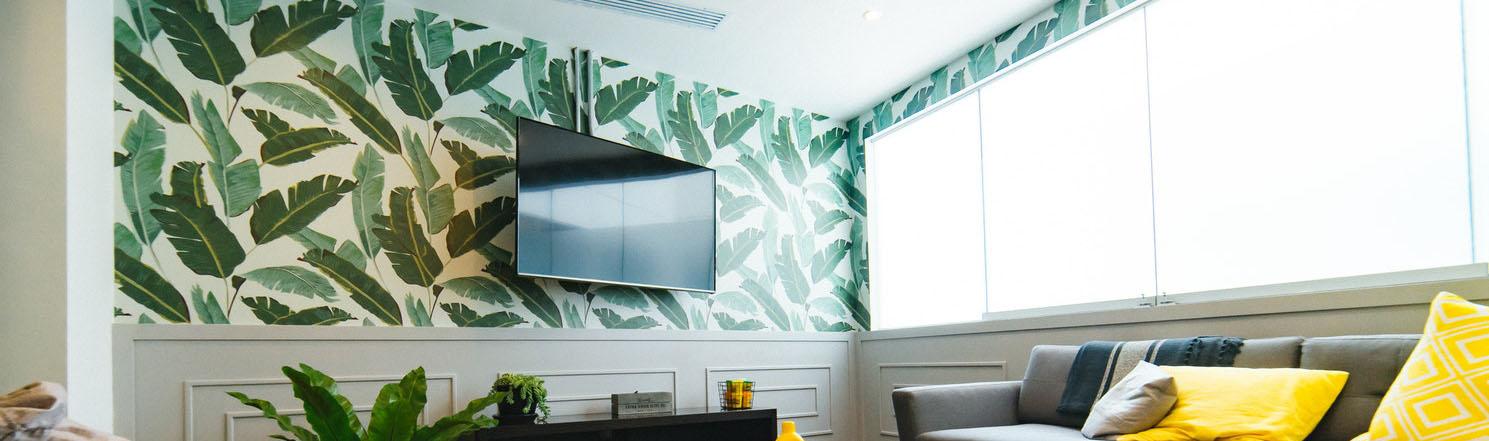 5 ingenious wallpaper tips