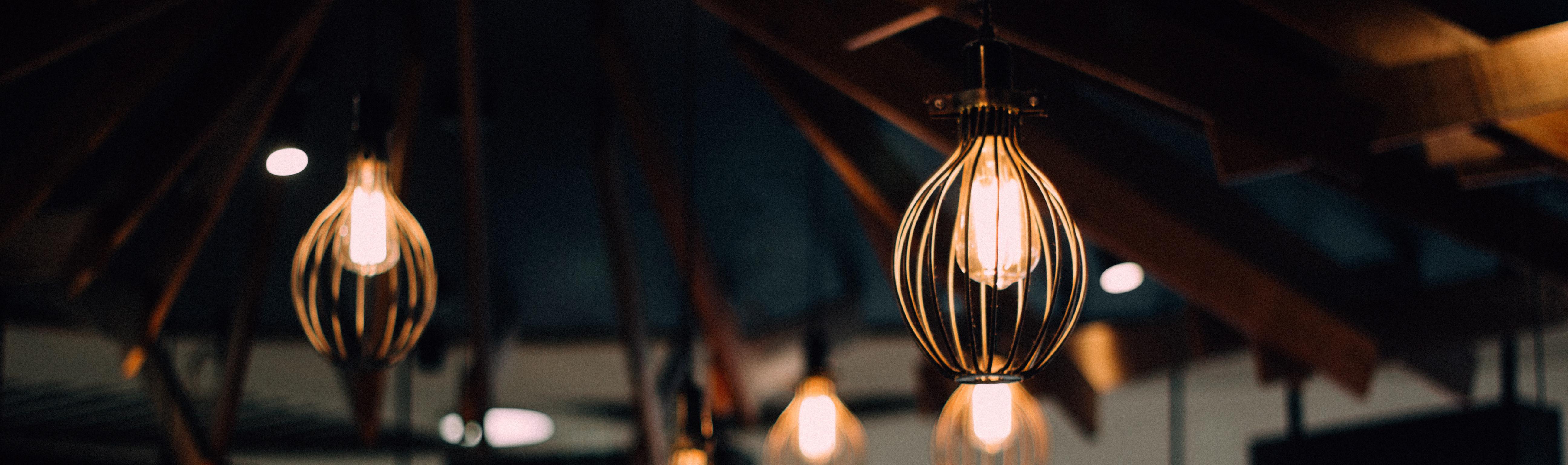 unique statement lighting