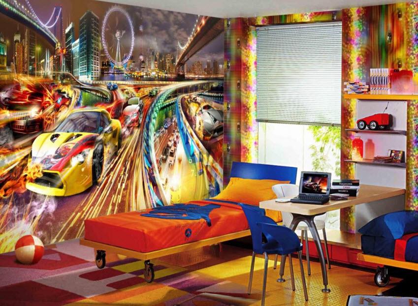 Painted Boys Room