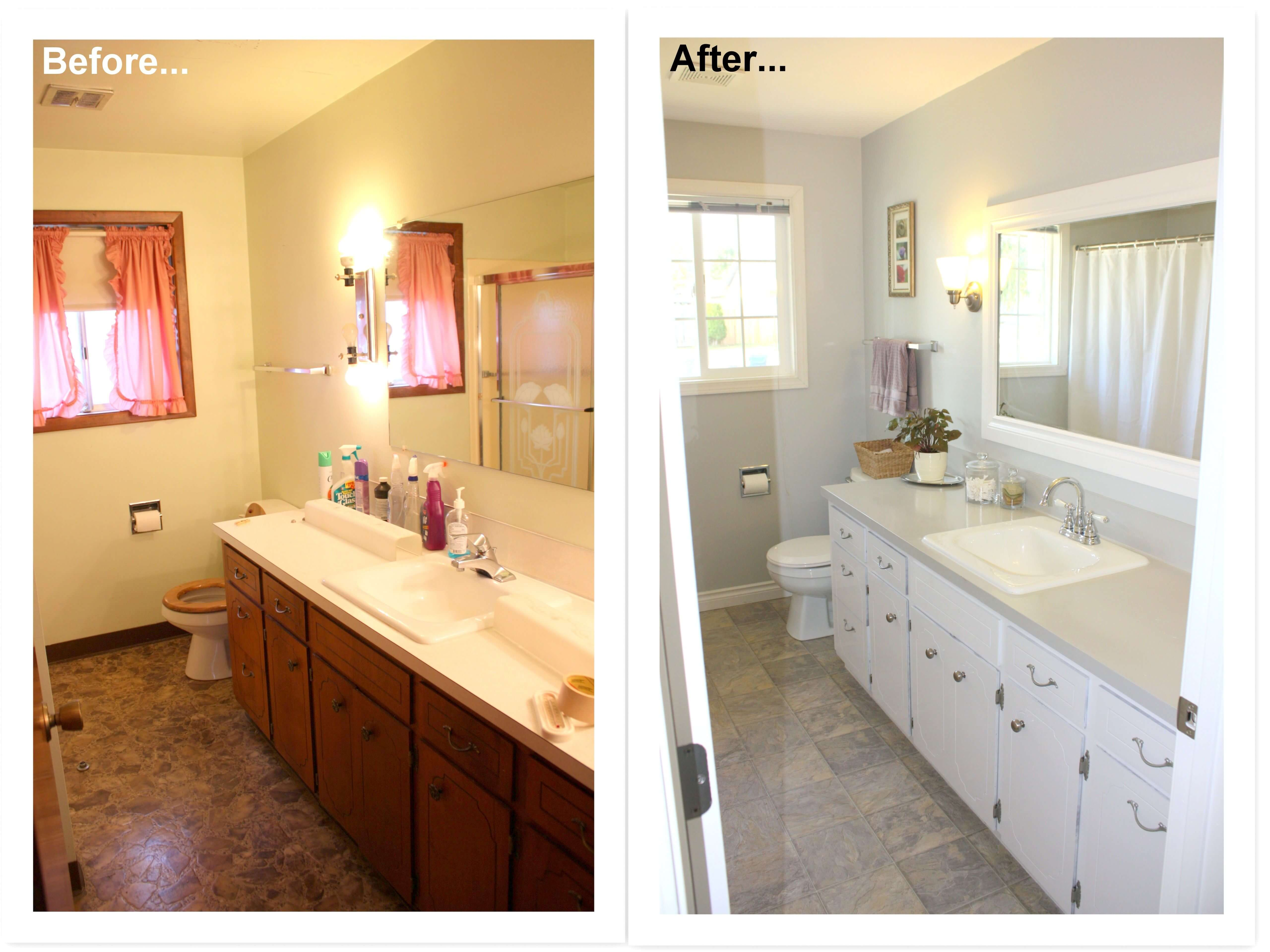 Bathroom Renovations Before And After Service Au